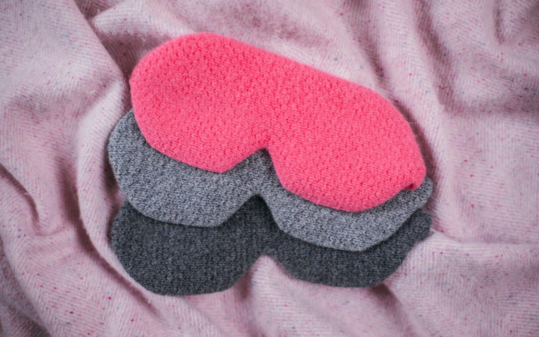 Cashmere eye masks